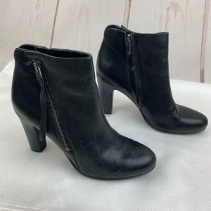 Sam Edelman | Sadee Black Leather Booties